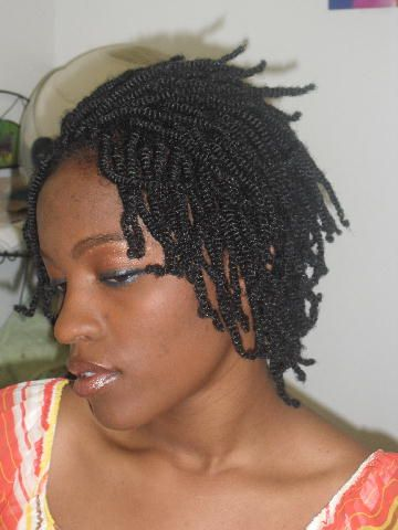 Yarn Twist Short Braids In 2019 NUBIAN TWISTS Nubian