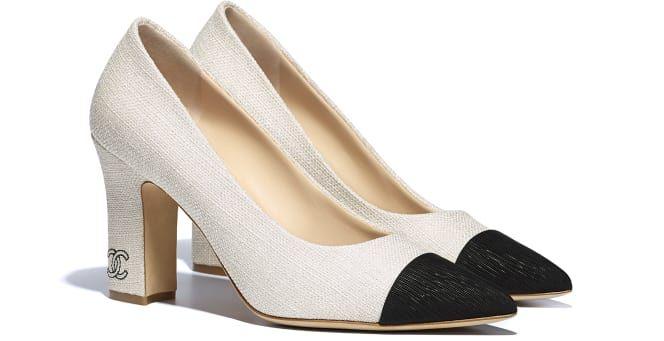 Chanel heels, Fashion shoes