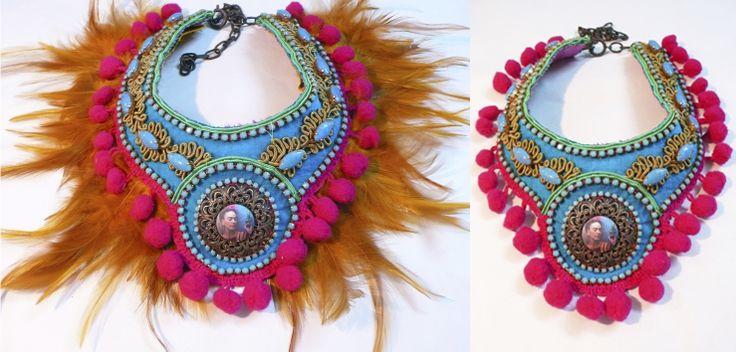 Frida Kahlo necklace