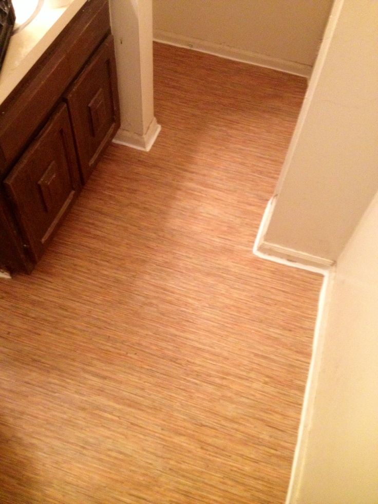 Bamboo vinyl bathroom flooring after flooring projects - Bamboo flooring in kitchen and bathroom ...