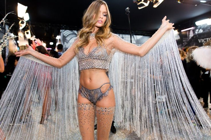 Here's your look inside the Victoria's Secret fashion show in Paris.