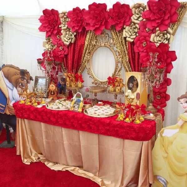 Southern Blue Celebrations: BEAUTY AND THE BEAST PARTY IDEAS Read More At: