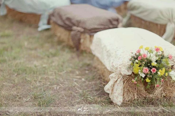 Country theme party for seating