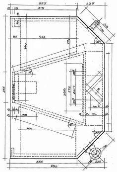 """BASS HORN четежи-1 (Plan""""s) bass horn Eliminator2-15-2 (tda)"""