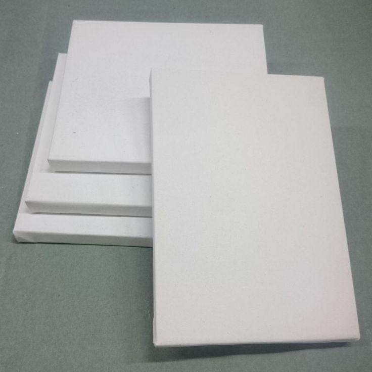 Tele per Dipingere su Telaio Artigianale - Spessore 2 cm - Spillatura Laterale