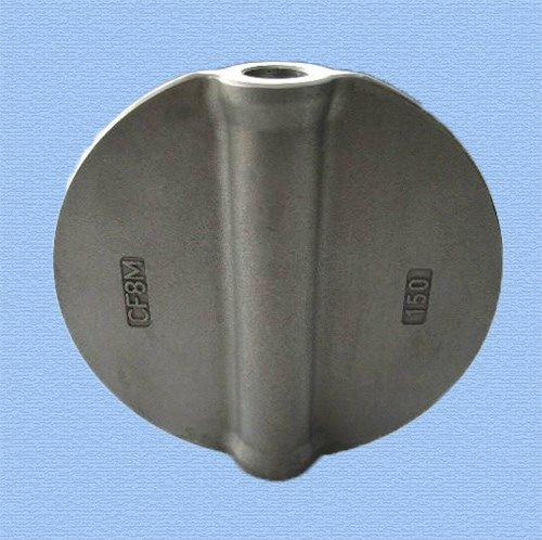 Valve Disc From stainless steel Material : stainless steel Crafts : investment casting Surface treatment : machining and grinding Application industry : flow control