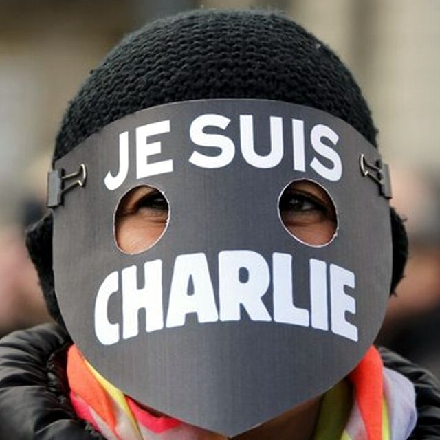 La maschera #JeSuisCharlie