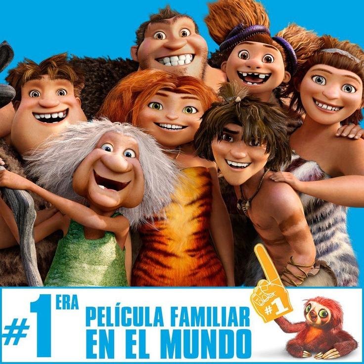 """""""Los Croods"""" la #1 en Taquilla, gracias a ustedes."""