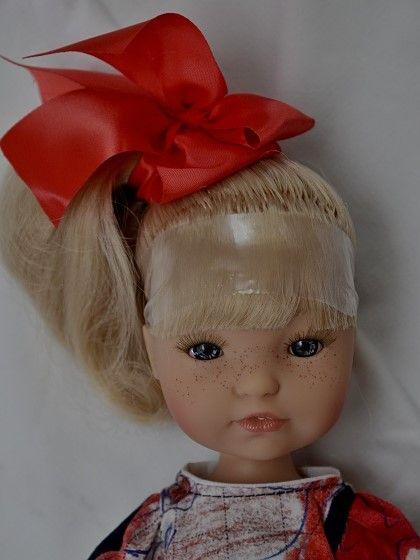 Realistická panenka - holčička Gretta- světlé vlasy od firmy Berjuan