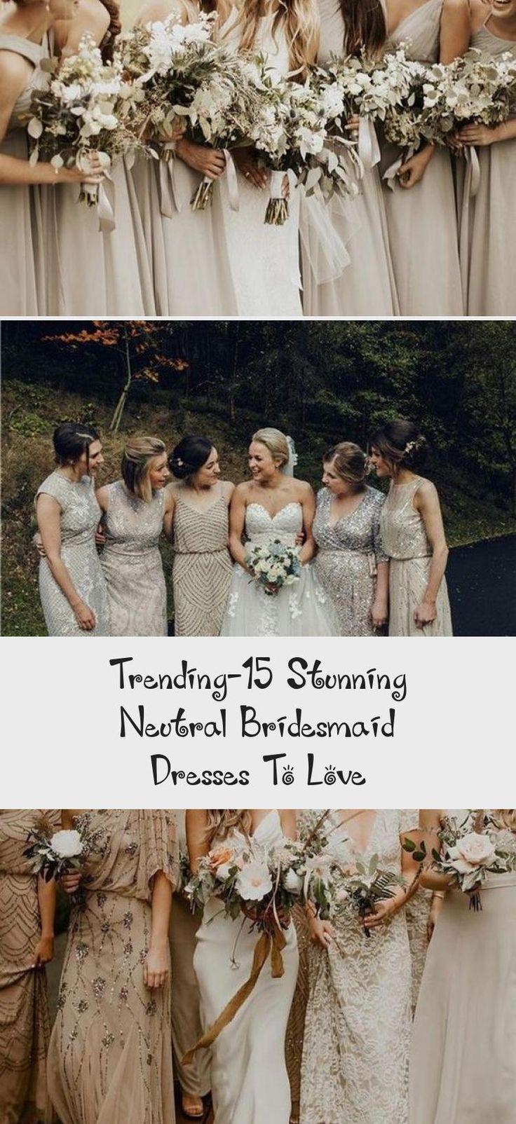 neutral champagne bridesmaid dresses #obde #weddingideas2019 #BridesmaidDressesSequin #BurgundyBridesmaidDresses #BridesmaidDressesColors #PinkBridesmaidDresses #TanBridesmaidDresses