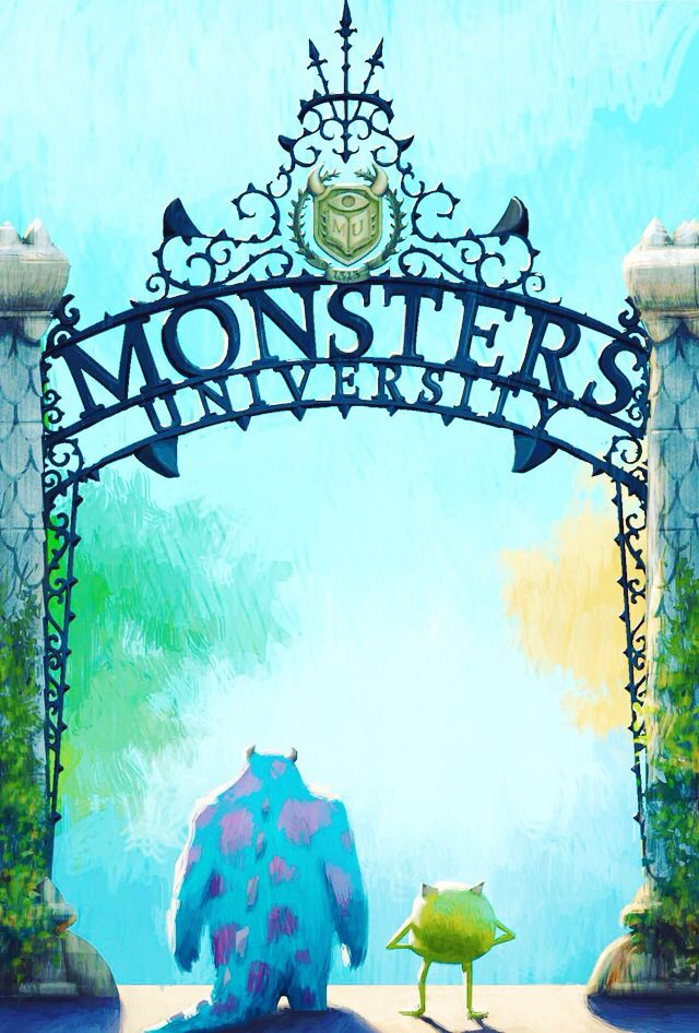 Monsters university - mike and sullivan - disney wallpaper