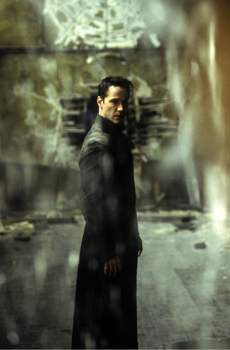 The Matrix Trilogy (1999, 2003) by Andy and Larry Wachowski with Keanu Reeves, Laurence Fishburne, Carrie-Anne Moss, Hugo Weaving...