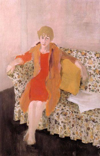 Fairfield Porter, Portrait of Elaine de Kooning