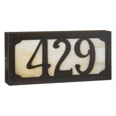 25 best ideas about illuminated house numbers on. Black Bedroom Furniture Sets. Home Design Ideas
