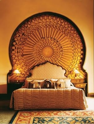 Balance Bedroom...want something to feature behind master bed, was thinking bricks but something like this could work