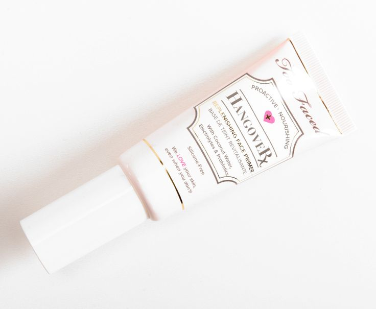 Too Faced Hangover Rx Replenishing Face Primer • Primer Review & Swatches