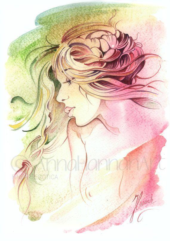 """""""Kiss of Wind"""" -FineArtErotica"""