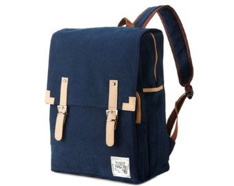 Golden Square Backpack Brown от BagDoRi на Etsy