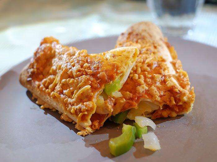 Enchilada's met kip en bonen van Francesca kookt