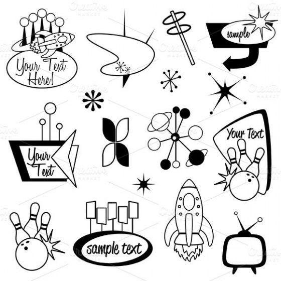 On the Creative Market Blog - 11 Vintage & Retro Design Resources