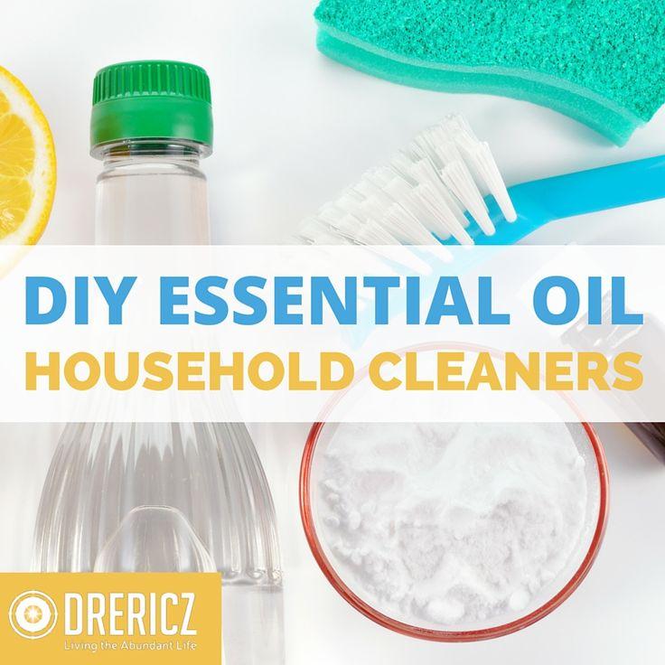 DIY ESSENTIAL OIL CLEANERS