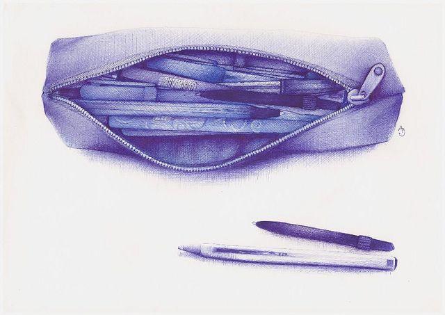 Opdracht 2: Waarnemingstekenen: stilleven met alledaagse voorwerpen (verticale, horizontale of diagonale compositie)