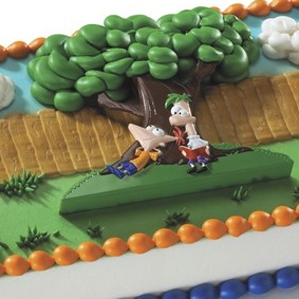 Phineas And Ferb Cake Topper Kit