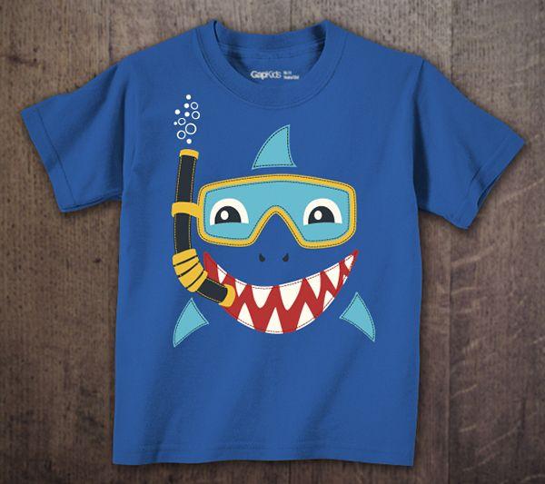 Gap Toddler Boy Graphics Spring 14 by David Kelmer, via Behance