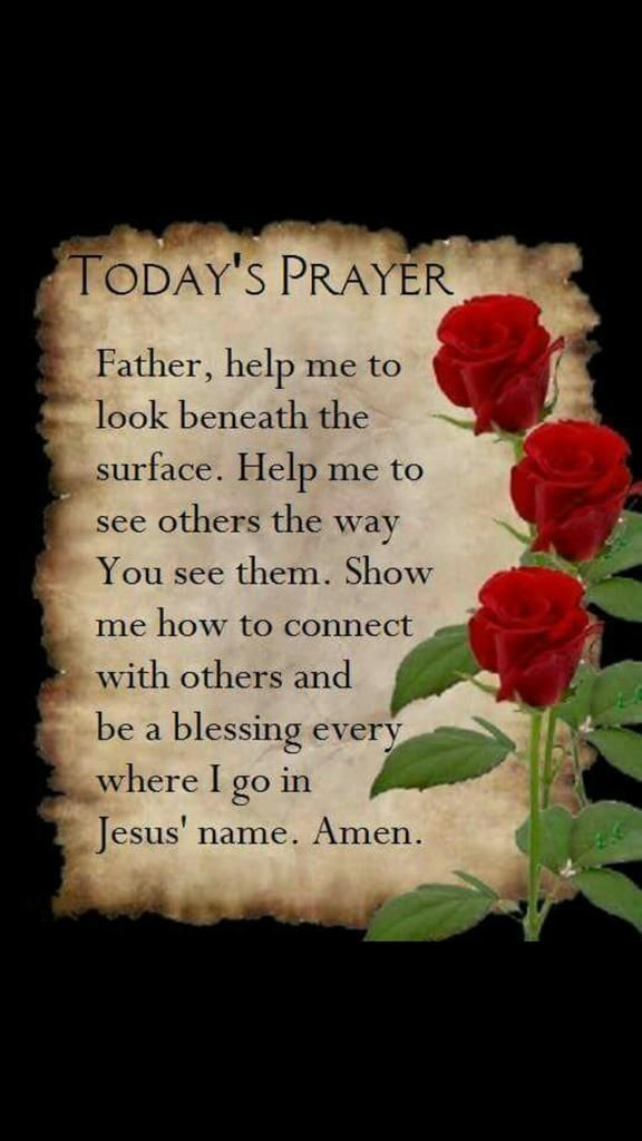 Lovely prayer that asks God for the help to love others. <3