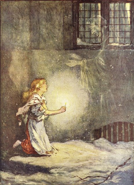 The Little Match Girl by Hans Christian Andersen - a very touching story.  It made me cry every time I heard it.