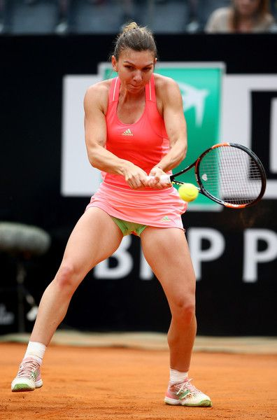 Simona Halep Photos - The Internazionali BNL d'Italia 2015 - Day Six - Zimbio