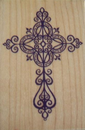 Elegant cross bing images cross neck tattoo cross for Elegant cross tattoo designs