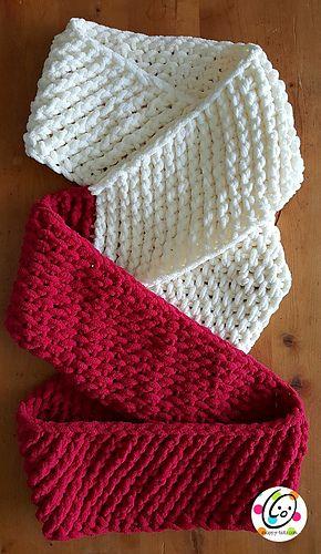 Loopy Scarf - free crochet pattern by Heidi Yates / Snappy Tots.