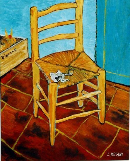 Van Gogh-la sedia di Van Gogh ad Arles