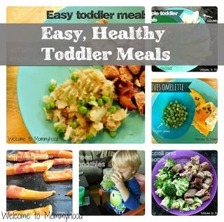 A list of healthy toddler meals by Welcome to Mommyhood #healthymeals #healthytoddlermeals
