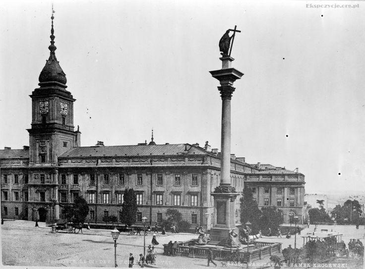 Plac Zamkowy: 1910