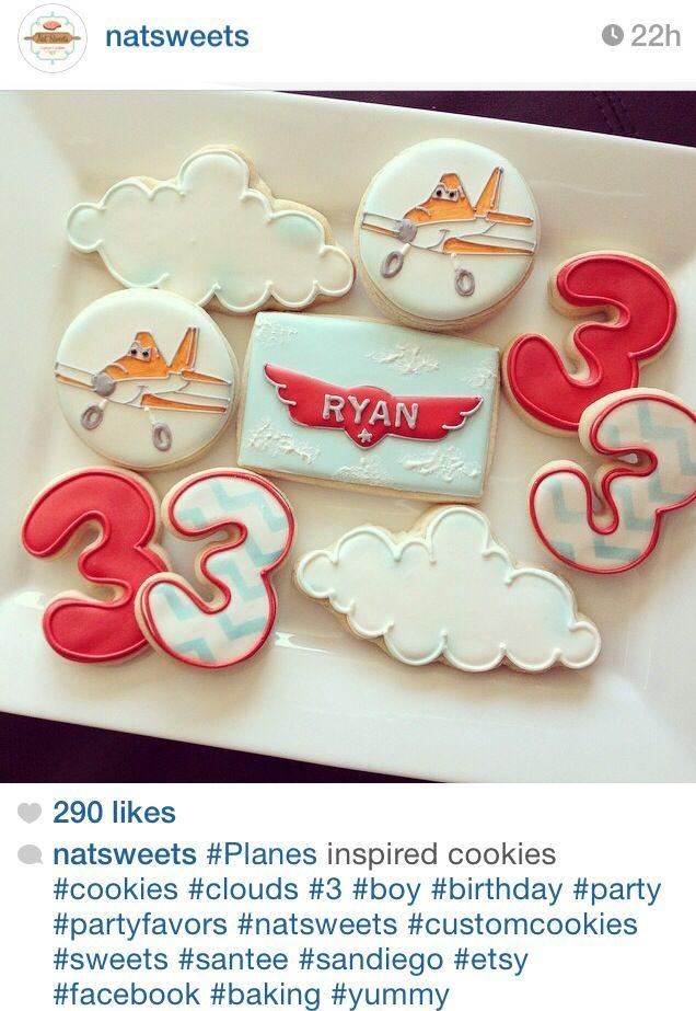 Disney planes sugar cookies