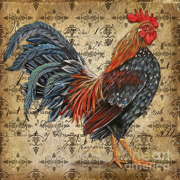 I uploaded new artwork to plout-gallery.artistwebsites.com! - 'Rustic Rooster-jp2122' - http://plout-gallery.artistwebsites.com/featured/rustic-rooster-jp2122-jean-plout.html via @fineartamerica