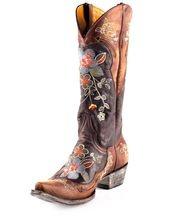 Old Gringo womens-bonnie-boot-vesuvio-brass. Want for wedding!