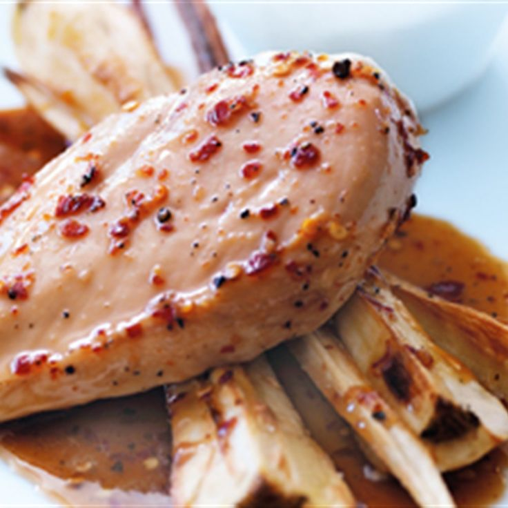 Try this Maple-Glazed Chicken recipe by Chef Donna Hay. This recipe is from the show Donna Hay – Fast, Fresh, Simple.