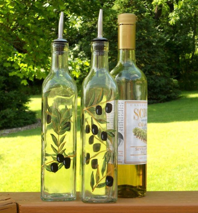 Famous Decorative Bottle: decorative ceramic olive oil bottles  FM18