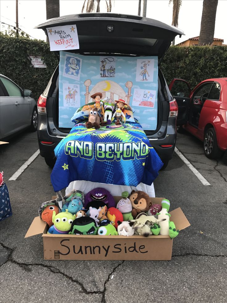 Toy Story Trunk Or Treat Toy Story Halloween Trunk Or