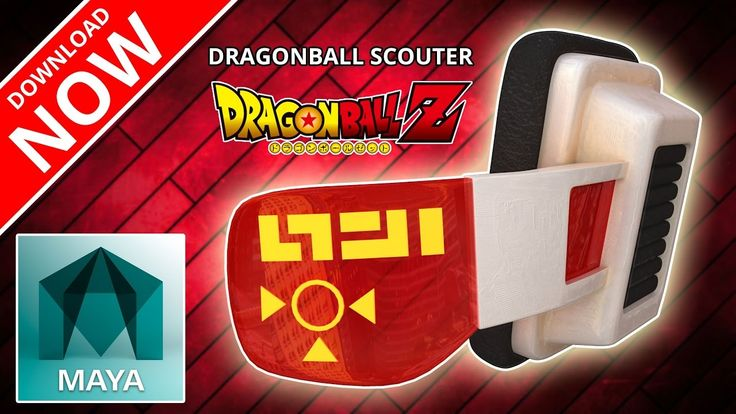 Dragon Ball Z Scouter | 3D Model | (IT'S OVER 9000!)