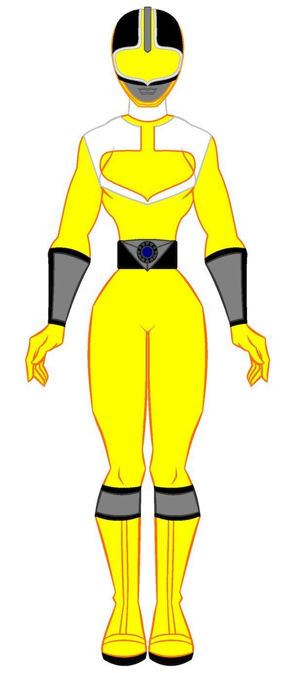 9. Power Rangers Time Force - Yellow Ranger by PowerRangersWorld999
