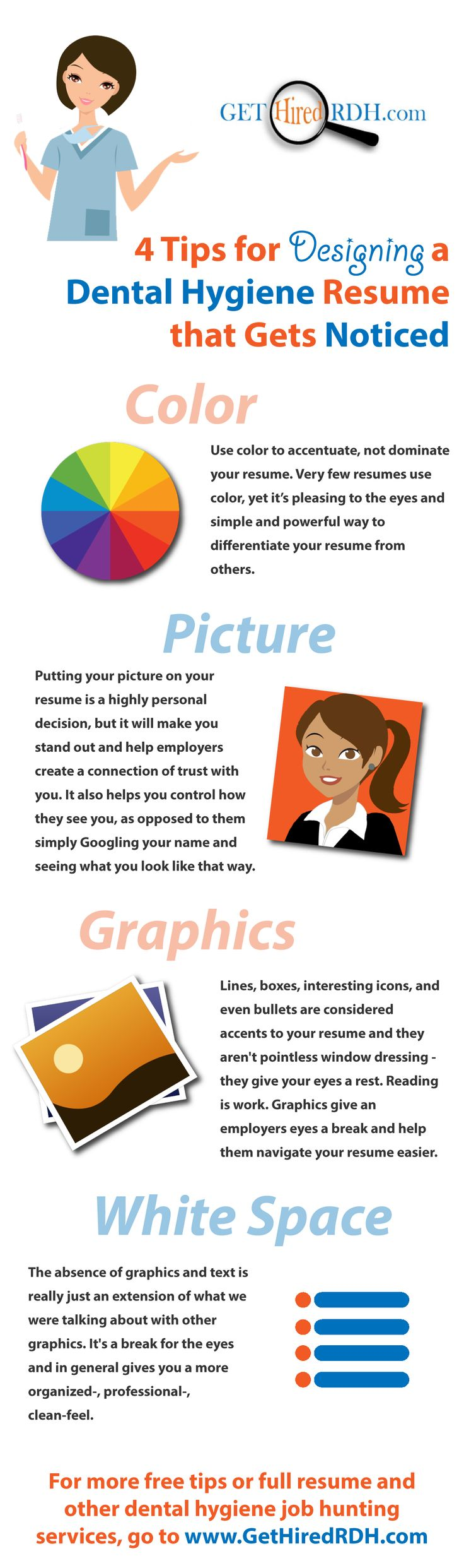 resume Dental Hygienist Resume 33 best dental hygiene resumes images on pinterest 4 tips for designing a resume that gets noticed