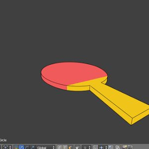 industri animasi: Membuat flat animation di blender