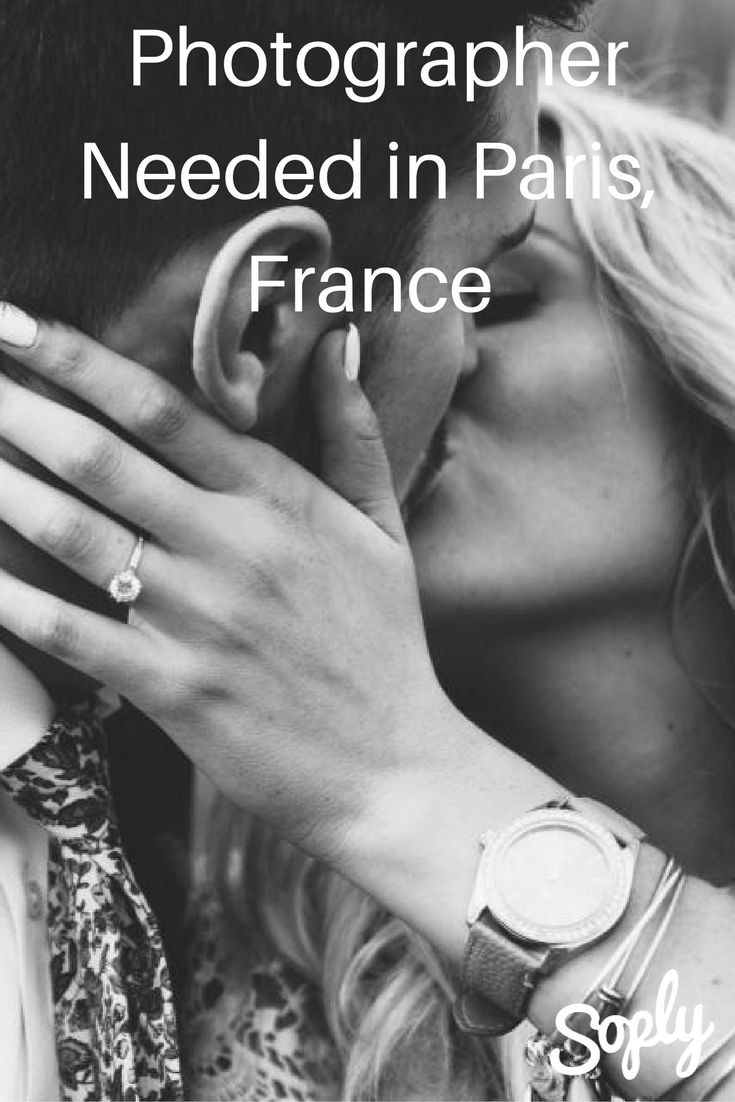 Photographer needed for an engagement in Paris, France. The groom to be wants to #propose either at the Eiffel Tower or at the Trocadero. See the photography job and apply by clicking the pin!