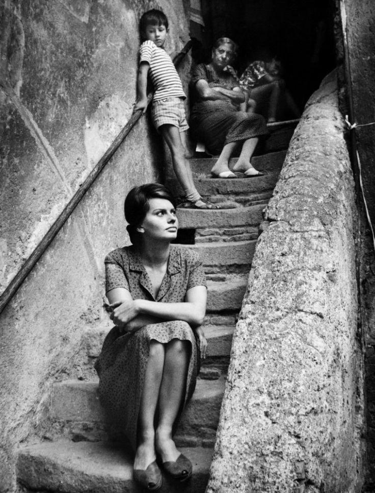 Italian Vintage Photographs ~ Two Women / Vittorio De Sica Photography