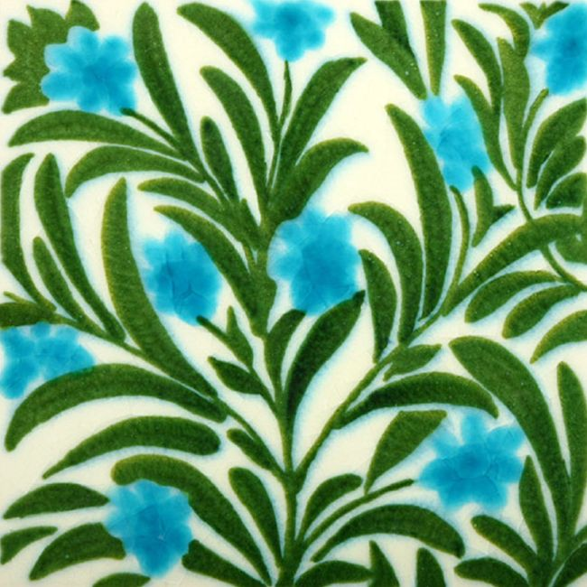 Purchase this beautiful William De Morgan Boston Blue Floral Tile for your Fireplace Insert or wall. We have a huge range of designs you can pick from.