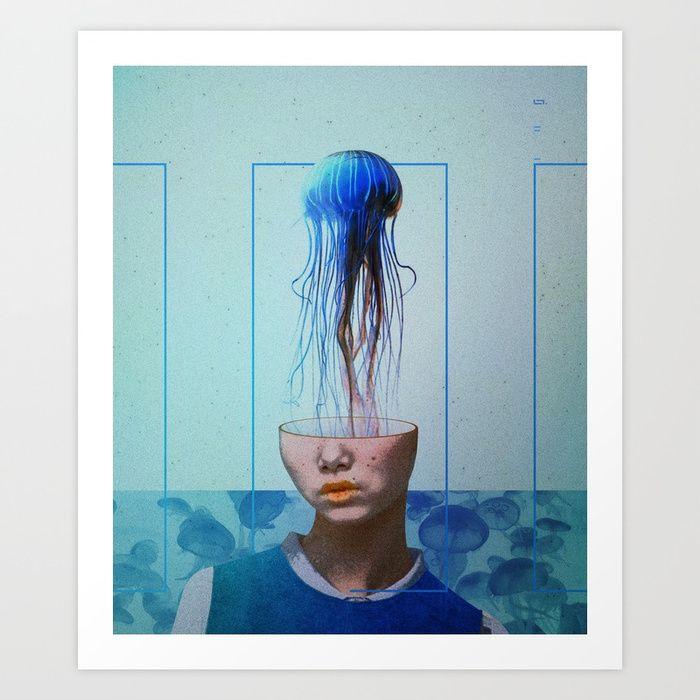 jellyfish blue by linco7n